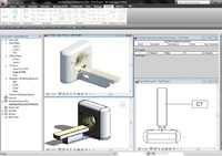3d model revit philips brilliance ct