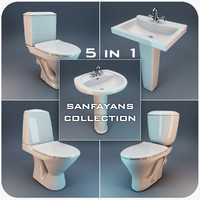 3ds max toilet faucet realistic
