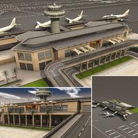 Small Airport scene