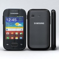 3d model samsung galaxy pocket s5300