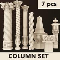 Column Set 1 (7 pcs)