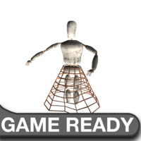 3ds max dirty mannequin