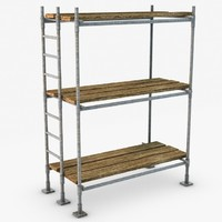 scaffold build uv 3d obj