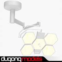 3dsmax dugm04 light operating lamp