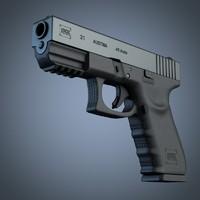 Glock 21 handgun