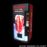 Moca Cola Vending Machine