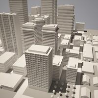 City simple model A