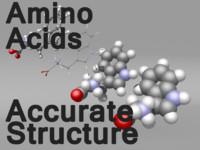 amino acids 3d obj