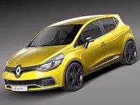 2012 2013 sport renault clio 3d model
