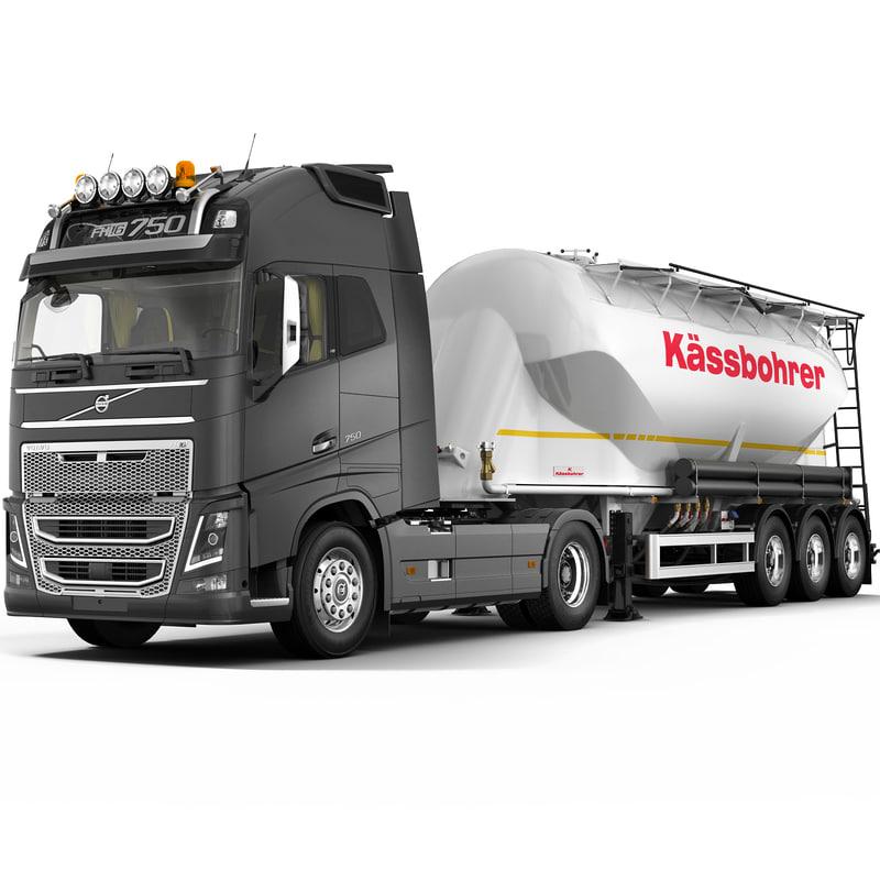 max fh16 2013 cement trailer