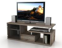 3d letter g television cabinet