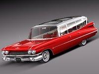 Cadillac Fleetwood 75 Station Wagon 1959