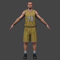 Basketball Player 2012 V2