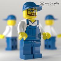 Lego Garbage Crew