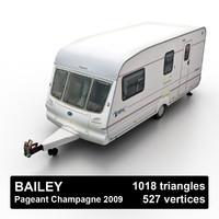 max camper semi-trailer