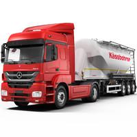 Mercedes Axor (Cement Trailer)