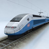 TGV Duplex Train