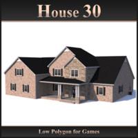 house 30 3d 3ds