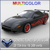 max generic sports car sakura