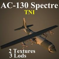 3d ac-130 spectre tni model