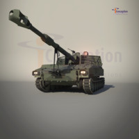 m109 m109a2 3d model
