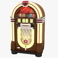 wurlitzer jukebox 3d max