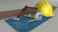 Home Construction Scene