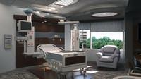 icu intensive care unit 3d 3ds
