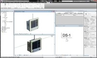 revit ge datascope spectrum 3d model