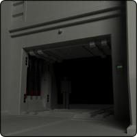 sci fi heavy door01