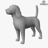 Low Poly Beagle