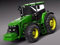 3d john deere tractor model