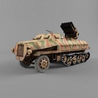 3d model sdkfz 4