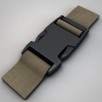 3ds max fastex snap buckles