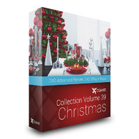 CGAxis Models Volume 39 Christmas C4D
