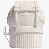 automated planet finder dome 3d 3ds