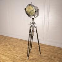 Tripod sealight floor lamp