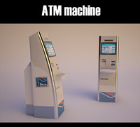 self service atm machine model