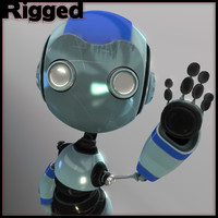Rigged Toon Robot