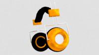 3d model headphones stylish