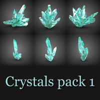 3ds max 6 crystals