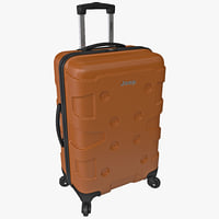 jeep hardside spinner suitcase 3d 3ds