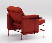 3d model magis traffic sofa