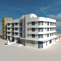 Beach Building 08