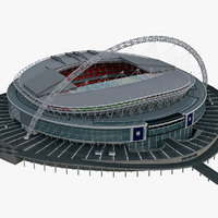 Low Poly Soccer Stadium ( Wembley )