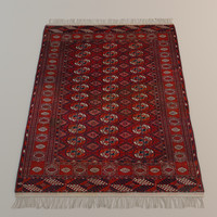 3d persian carpet