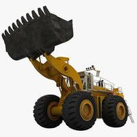 c4d mining wheel loader letourneau