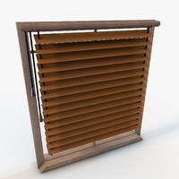 3d elegant window
