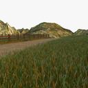 Meadow 3D models
