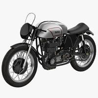 Motorcycle Norton Manx